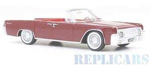 リンカーン コンチネンタル コンバーチブル 1961 レッド (ミニカー)