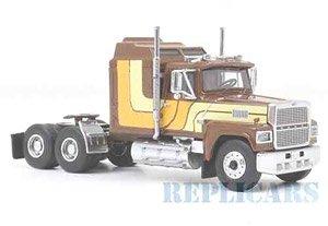フォード LTL 9000 1986 ブラウン/イエロー (ミニカー)