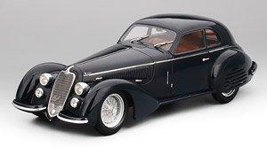 アルファロメオ 8C 2900B ルンゴ カロッツェリア ツーリング スーパーレジェーラ 1937 ダークブルー (ミニカー)
