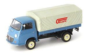 ゴリアテ エクスプレス 1100フラットベット トラック 1957 ブルー/ライトグレー (ミニカー)