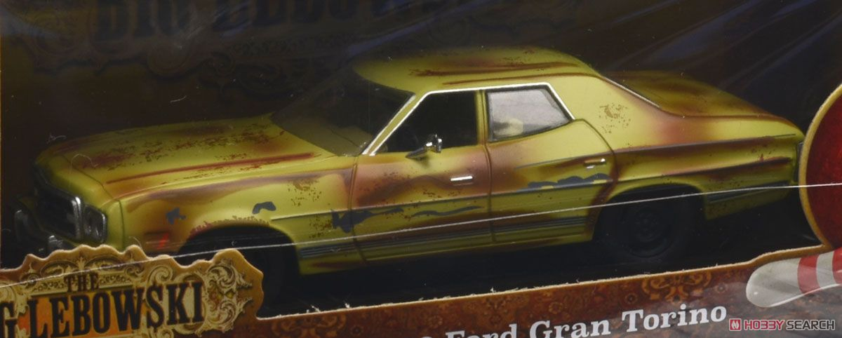 The Big Lebowski (1998) - The Dude`s 1973 Ford Gran Torino (ミニカー)