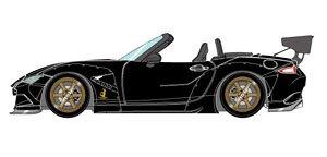 PANDEM ROADSTER (ND) ブラック / 6 spork Wheel (ブロンズ) (ミニカー)