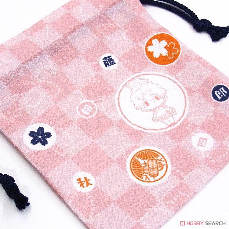 D4 刀剣乱舞-ONLINE- 巾着コレクション 15. 秋田藤四郎 (キャラクターグッズ)