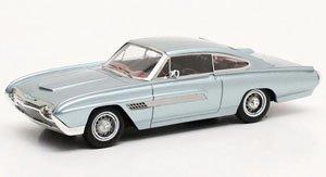 フォード サンダーバード イタリアン ファストバック コンセプト 1963 メタリックシルバー (ミニカー)