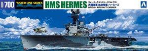 英国海軍航空母艦HMSハーミーズ インド洋セイロン沖海戦 (プラモデル)
