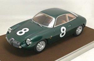 アルファ ロメオ ジュリエッタ SZ タルガ フローリオ 1961 #8 Priolo/ Manfredini (ミニカー)