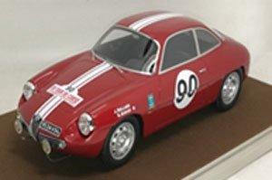 アルファ ロメオ ジュリエッタ SZ ツール・ド・コルス 1962 #90 Rolland/Augias (ミニカー)