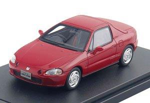 Honda CR-X delsol SiR (1992) ミラノレッド (ミニカー)