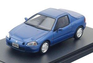 Honda CR-X delsol SiR (1992) キャプティバブルー・パール (ミニカー)