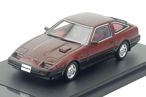 NISSAN FAIRLADY Z 2by2 300ZX (1983) ワインMツートン (ミニカー)