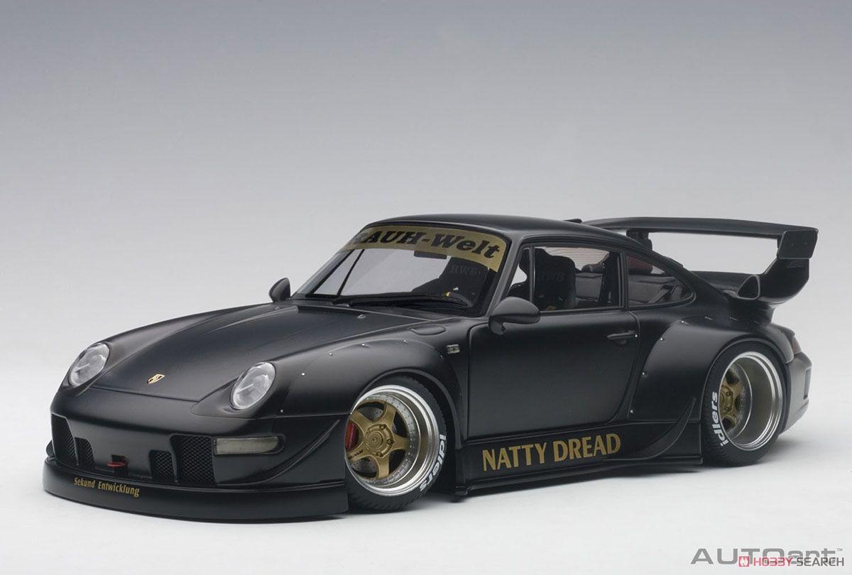 RWB 993 (マット・ブラック/ゴールド・ホイール) (ミニカー)