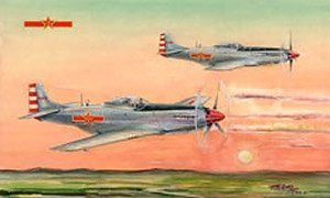 中国空軍 P-51D/K マスタング (プラモデル)