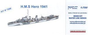 英海軍H級駆逐艦ヒーロー1941 (プラモデル)