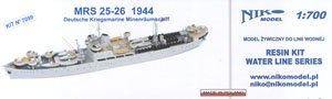 独海軍MRS 25-26号機雷掃海艦1944 (プラモデル)