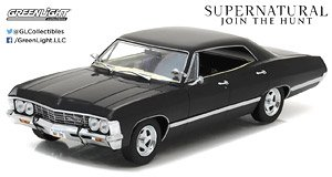 Supernatural (2005-Current TV Series) - 1967 Chevrolet Impala Sport Sedan (ミニカー)