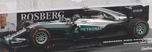 メルセデス AMG ペトロナス フォーミュラ1チーム F1 W07 ハイブリッド ニコ・ロズベルグ 日本GP 2016 ウィナー (ミニカー)