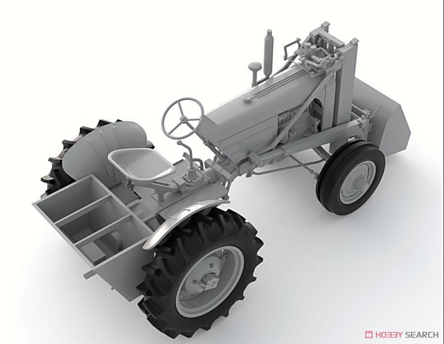 米 軍用ホイールローダー車 (プラモデル)