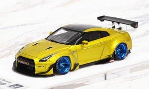 Rocket Bunny R35 GT-R ゴールド Limited Edition (宮沢模型流通限定) (ミニカー)