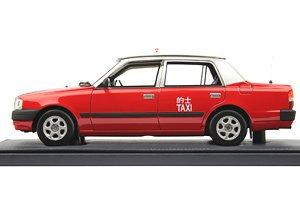 トヨタ クラウン コンフォート タクシー 赤 ノーマルバージョン (ミニカー)
