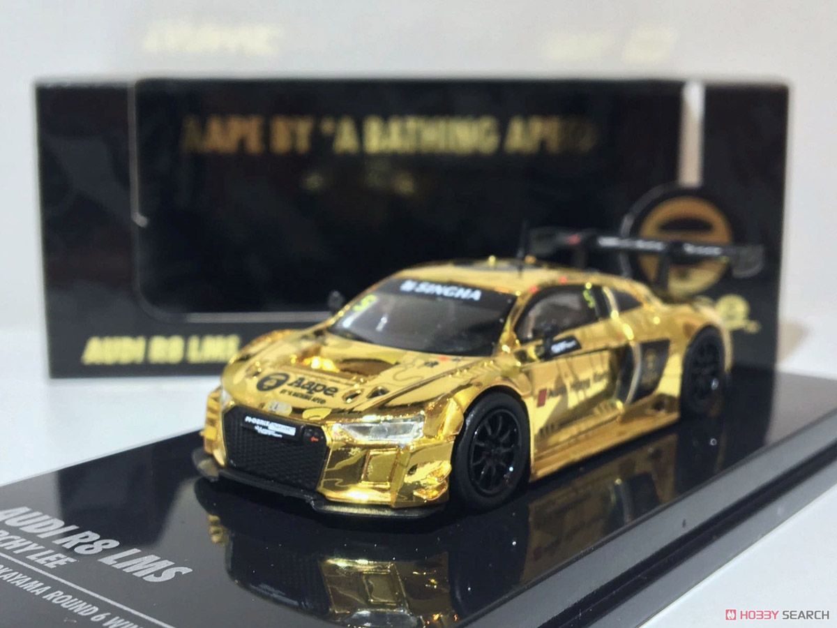 AAPE BY A BATHING APE 限定 Audi R8 LMS GT Asia (ミニカー)