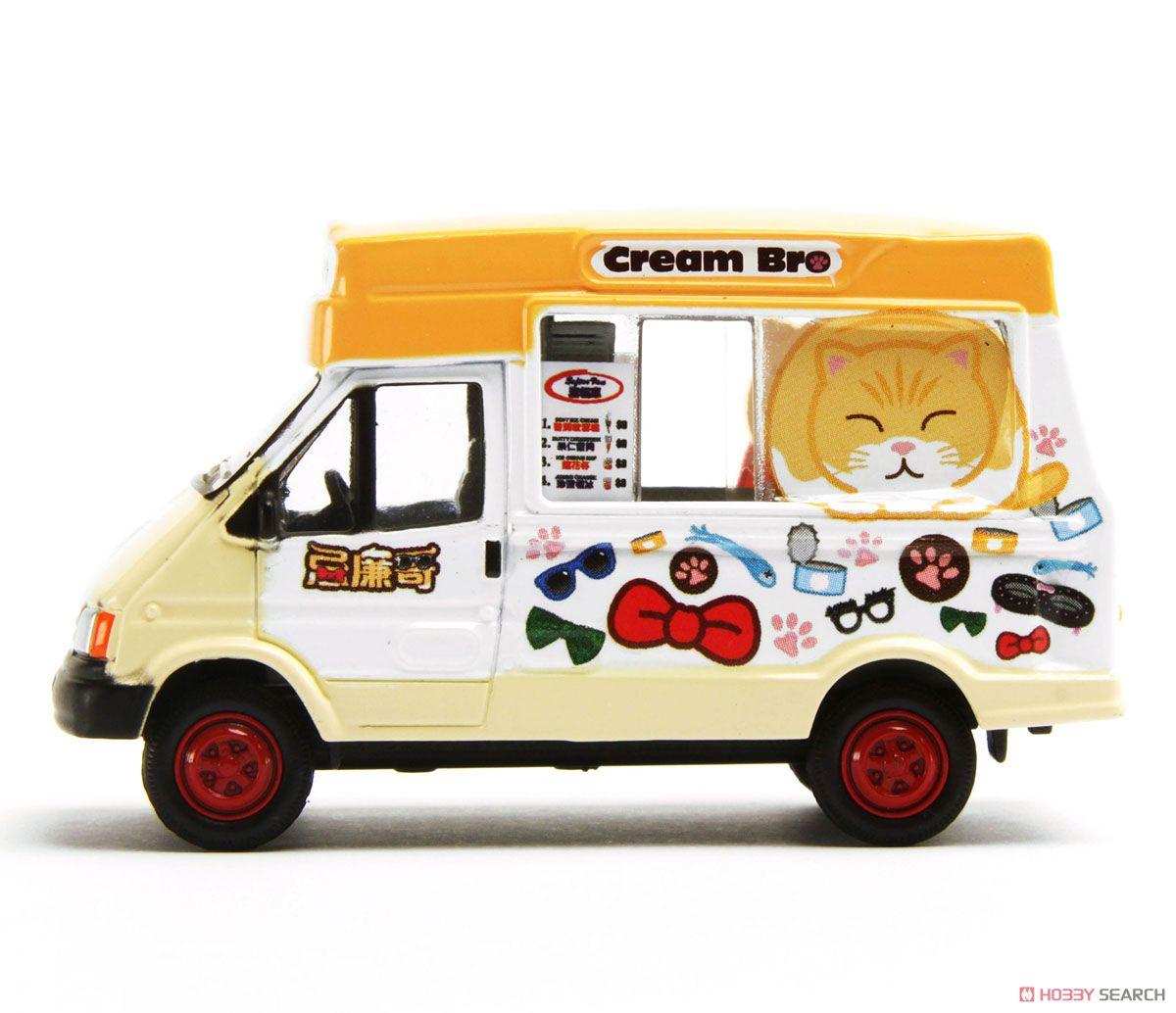 アイスクリームバン `クリームブラザー` (ミニカー)
