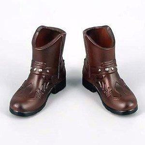 ZY-TOYS 1/6 メンズファッションブーツ A (ブラウン) (ZY16-23A) (ドール)