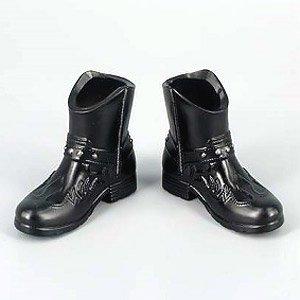 ZY-TOYS 1/6 メンズファッションブーツ B (ブラック) (ZY16-23B) (ドール)