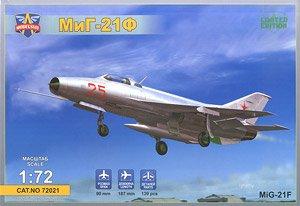 露・ミコヤンMiG-21F量産初期型戦闘機 (プラモデル)