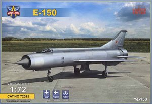 露・ミコヤンYe-150試作迎撃機 (プラモデル)