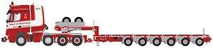 メルセデス ベンツ アロクス ビッグスペース 8×4 + Nooteboom MCO-PX 6アクスル `WESTOF SCOTLAND` (ミニカー)