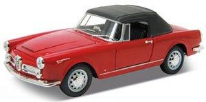 アルファロメオ スパイダー 2600 ソフトトップ 1960 (レッド) (ミニカー)
