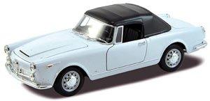 アルファロメオ スパイダー 2600 ソフトトップ 1960 (ホワイト) (ミニカー)