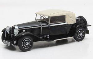 ブガッティ タイプ46 Faux カブリオレ 1930 ブラック Veth&Zoon (ミニカー)