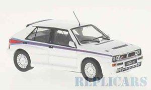 ランチア デルタ インテグラーレ マルティーニ 1992 ホワイト (ミニカー)