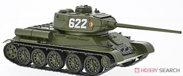 Kampfpanzer T-34 olive NVA (ミニカー)