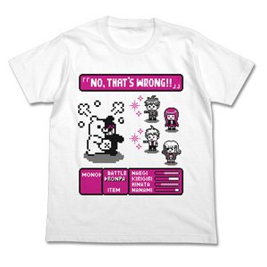 ダンガンロンパ3 -The End of 希望ヶ峰学園- RPG Tシャツ WHITE M (キャラクターグッズ)