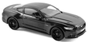 フォード マスタング GT 2015 (マットブラック) (ミニカー)