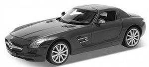 メルセデスベンツ SLS AMG (マットブラック) (ミニカー)
