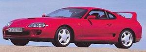 トヨタ スープラ 1993 (レッド) (ミニカー)