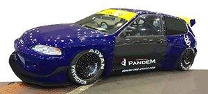 PANDEM CIVIC(EG6) Blue (ミニカー)