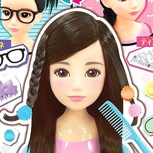 Hair Make Artist Chocola Black (Interactive Toy)
