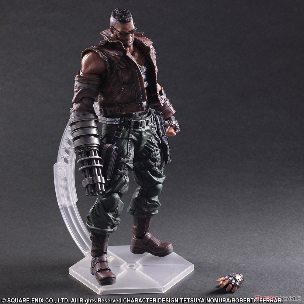 Final Fantasy VII Remake Play Arts Kai No.2 Barret Wallace (PVC Figure) Item picture9