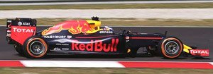 Red Bull Racing Tag Heuer RB12 No.3 Winner Malaysian GP 2016 Daniel Ricciardo (ミニカー)
