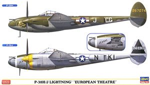 P-38H/J ライトニング `ヨーロッパ戦線` (プラモデル)