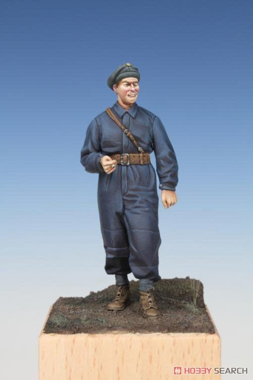 スウェーデン戦車兵 (第2次大戦時) (プラモデル)