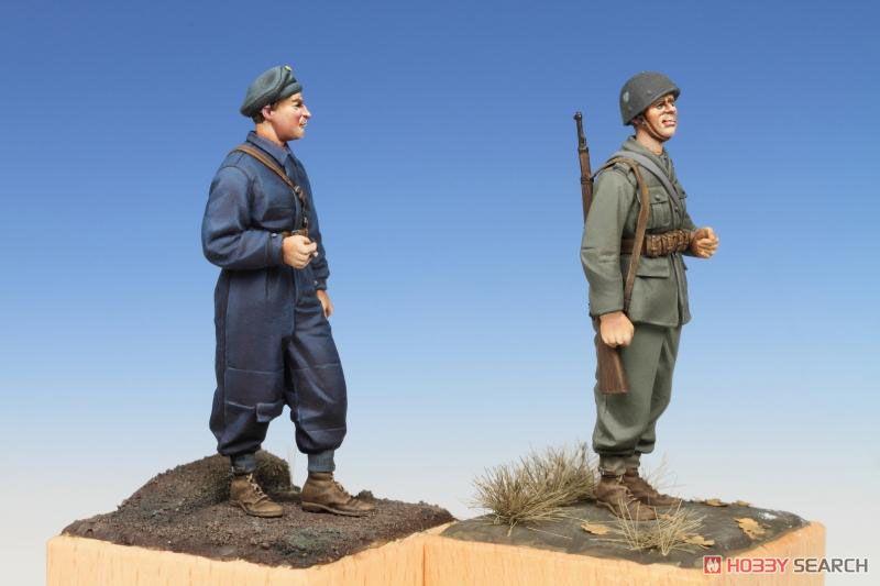 スウェーデン戦車兵と歩兵セット (第2次大戦時) (プラモデル)