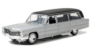 Precision Collection - 1966 Cadillac S&S Limousine - Silver & Black (ミニカー)
