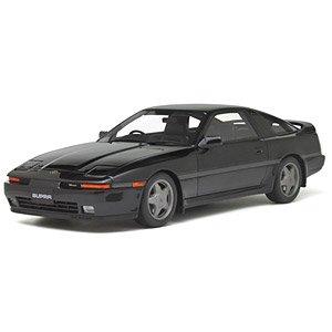 トヨタ スープラ 2.5 Twin Turbo R (JZA70) (ブラック) (ミニカー)