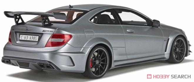メルセデスベンツ C63 AMG ブラックシリーズ(マットシルバー) (ミニカー)