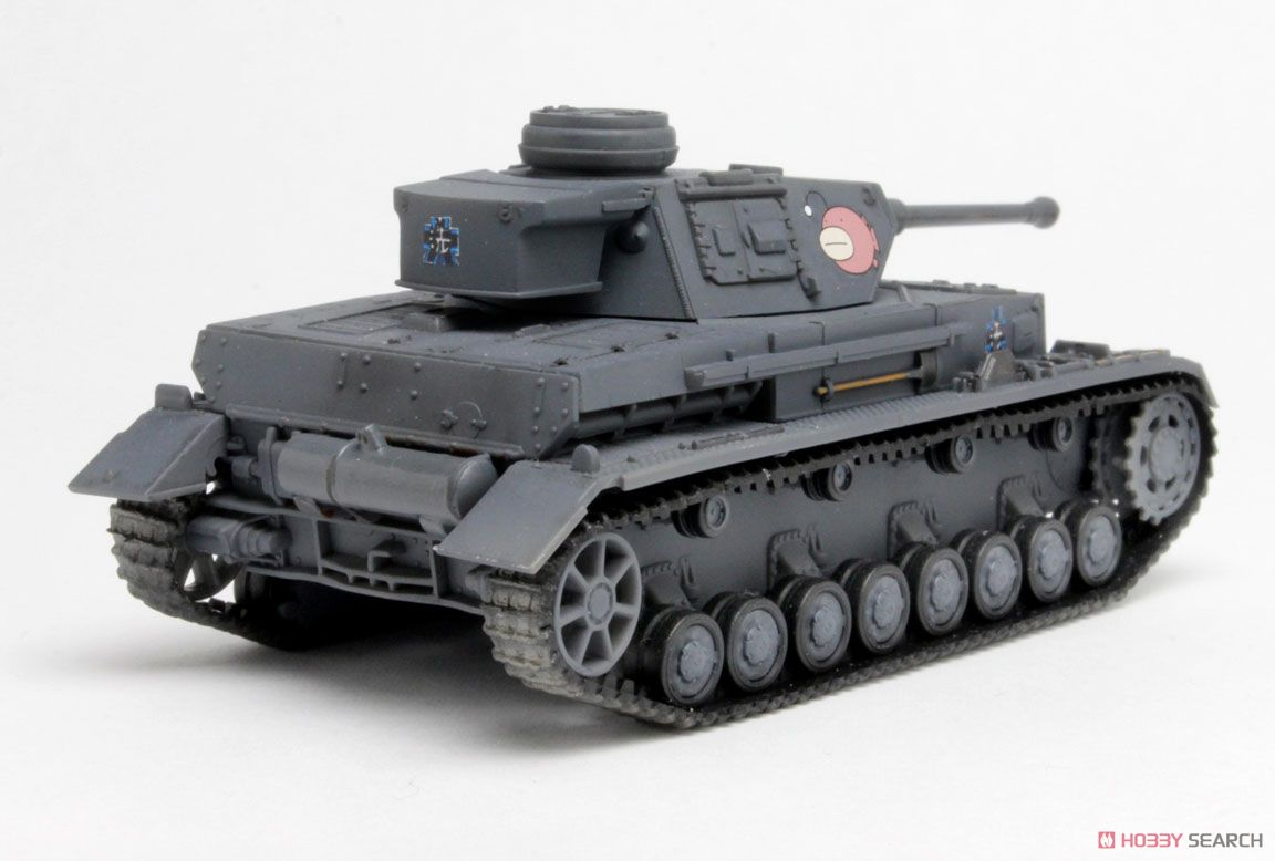 ガールズ&パンツァー IV号戦車D型改(F2型仕様) あんこうチーム (プラモデル)